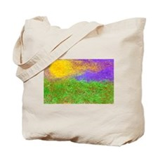 Cute Flaming sunrise Tote Bag
