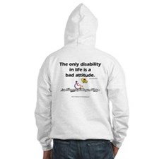 Bad Attitude (backprint) Hoodie