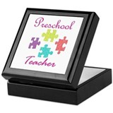 Preschool Teacher Keepsake Box