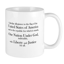 Pledge of Allegiance Mug