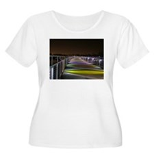 Grays Lake Colorful Bridge T-Shirt