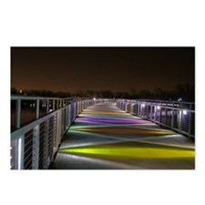 Grays Lake Colorful Bridge Postcards (Package of 8