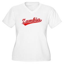 Retro Zambia (Red) T-Shirt
