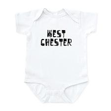 West Chester Faded (Black) Infant Bodysuit