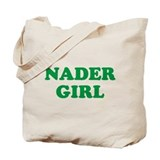 nader girl Tote Bag