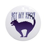 Pet My Kitty Keepsake (Round)