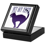 Pet My Kitty Keepsake Box