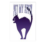 Pet My Kitty Postcards (Package of 8)