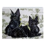 Scottish terrier Wall Calendars