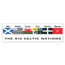 Celtic Nations Bumper Bumper Sticker
