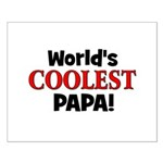 World's Coolest Papa! Small Poster