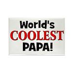 World's Coolest Papa! Rectangle Magnet