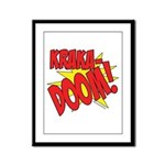 KRAKADOOM! Framed Panel Print