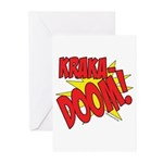 KRAKADOOM! Greeting Cards (Pk of 20)