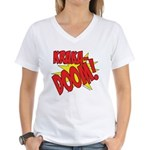 KRAKADOOM! Women's V-Neck T-Shirt