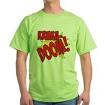 KRAKADOOM! Green T-Shirt