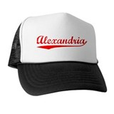 Vintage Alexandria (Red) Trucker Hat