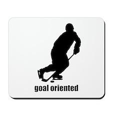 Goal Oriented Hockey Mousepad