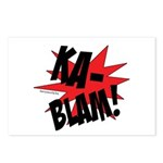 KABLAM! Postcards (Package of 8)
