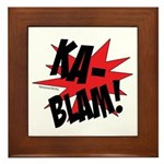 KABLAM! Framed Tile