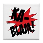 KABLAM! Tile Coaster