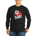 KABLAM! Long Sleeve Dark T-Shirt