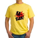 KABLAM! Yellow T-Shirt