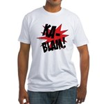 KABLAM! Fitted T-Shirt