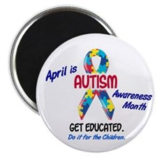 "Autism Awareness Month 1 2.25"" Magnet (10 pack)"