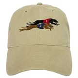Whippet Racing Baseball Cap