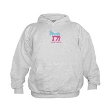 Little Liberal - Girly Hoodie