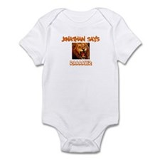 Jonathan Says Raaawr (Lion) Infant Bodysuit