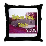 Trailer Park Party Throw Pillow