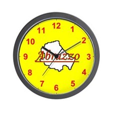 Cute Abruzzo Wall Clock