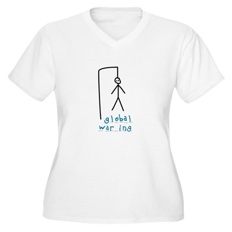 The Game - Global Warming Women's Plus Size V-Neck