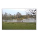 Dunorlan Park, Kent Rectangle Sticker 50 pk)