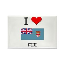 I Love Fiji Rectangle Magnet