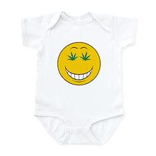 Pothead Smiley Face Infant Bodysuit