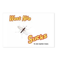 West Nile Sucks Postcards (Package of 8)