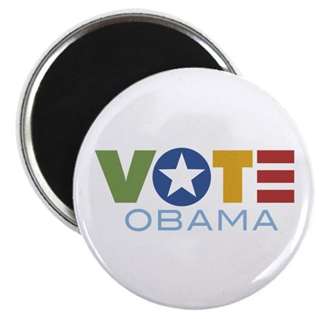 "Vote Obama 2.25"" Magnet (10 pack)"