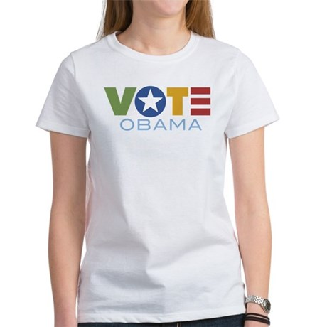 Vote Obama Women's T-Shirt
