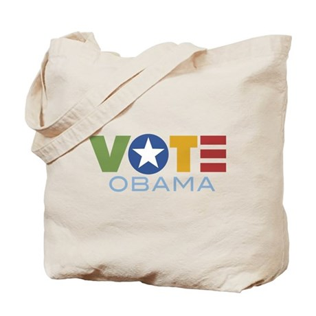 Vote Obama Tote Bag