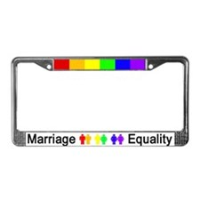 Marriage Equality License Plate Frame