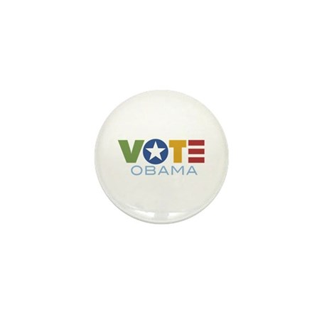 Vote Obama Mini Button