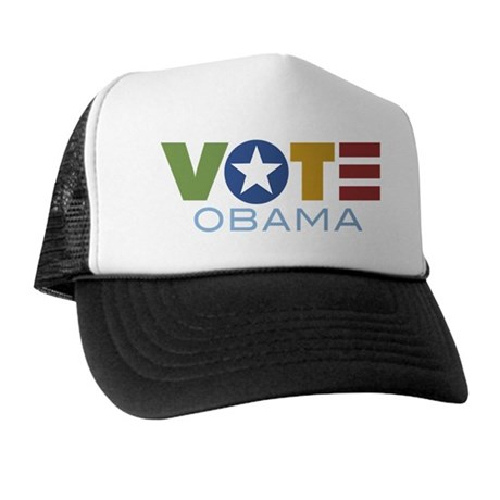 Vote Obama Trucker Hat