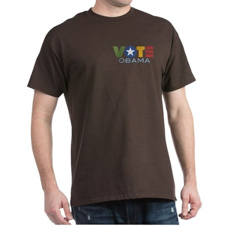Vote Obama Dark T-Shirt