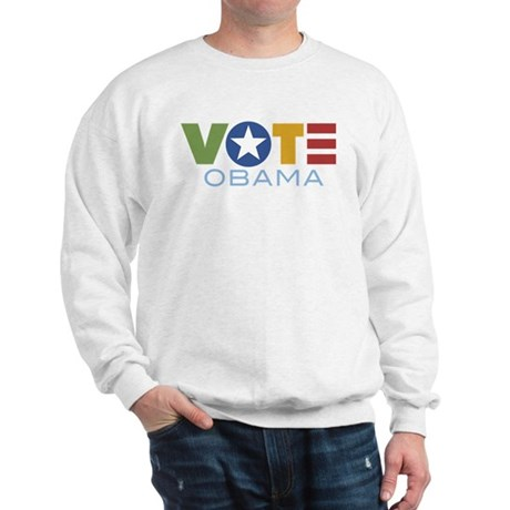 Vote Obama Sweatshirt