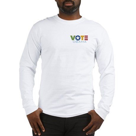 Vote Obama Long Sleeve T-Shirt
