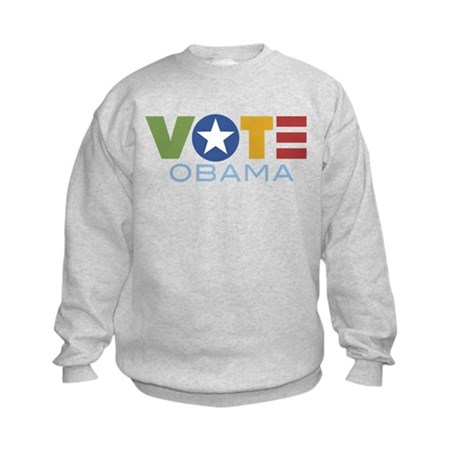 Vote Obama Kids Sweatshirt