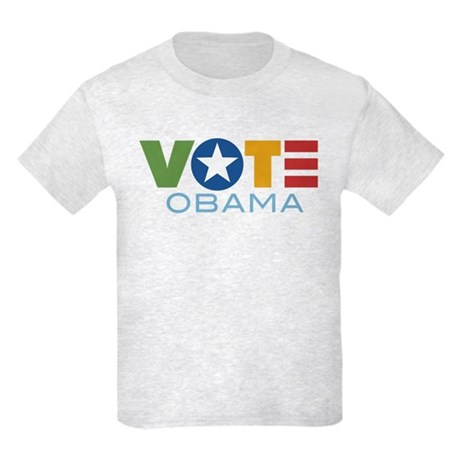 Vote Obama Kids Light T-Shirt